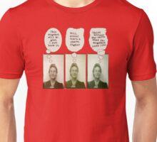 Bertha's Been Busted Unisex T-Shirt