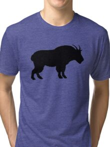 Mountain goat Tri-blend T-Shirt