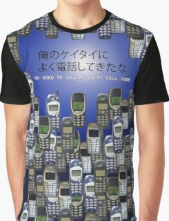 Cellphone Graphic T-Shirt