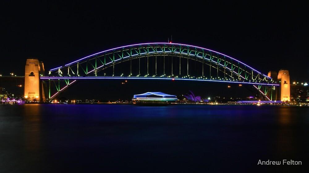 Colourful Bridge by Andrew Felton