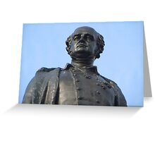 Sir John Franklin Statue, Franklin Square Greeting Card