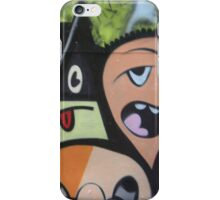 graffiti mural art of people iPhone Case/Skin