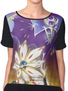 Pokemon - Solgaleo and Lunala Chiffon Top