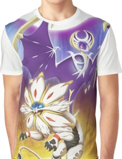 Pokemon - Solgaleo and Lunala Graphic T-Shirt
