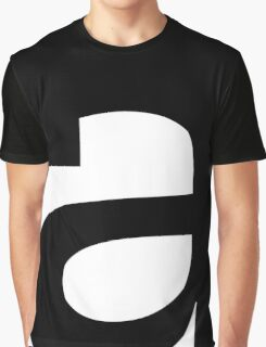 Typography A Graphic T-Shirt
