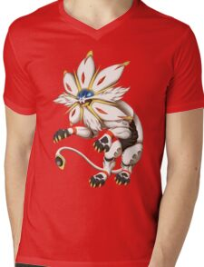 Pokemon - Solgaleo Mens V-Neck T-Shirt