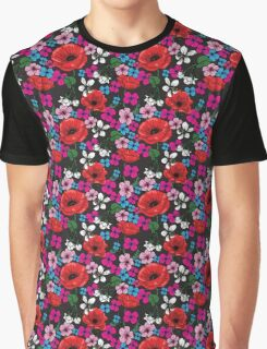 Floral party print vector Graphic T-Shirt