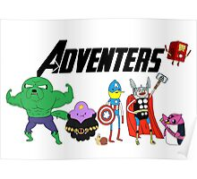 Aventers (Adventure time Avengers) Poster