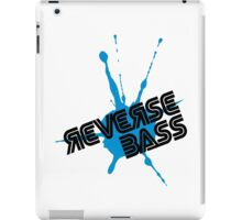 Reverse Bass Music Quote iPad Case/Skin