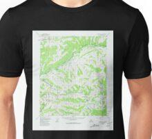 USGS TOPO Map Alaska AK Livengood A-1 357076 1952 63360 Unisex T-Shirt