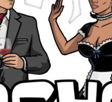 """Archer - Lana """"Sullen wench"""" Sticker"""