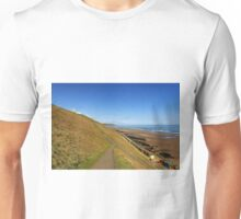 Along The West Cliff, Whitby Unisex T-Shirt