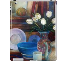 still life with tulips iPad Case/Skin