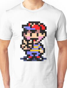 (Earthbound) Ness Peace Sign Unisex T-Shirt