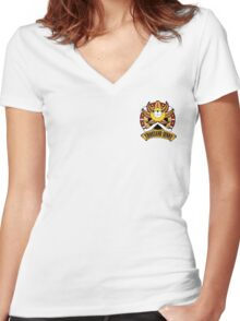 Thousand Sunny One Piece (small) Women's Fitted V-Neck T-Shirt