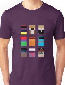 Minimalist Princesses Unisex T-Shirt