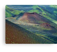 Etna Colors at 2000 mtrs. Canvas Print