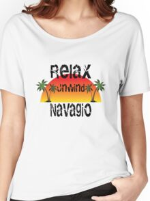 Relax, Unwind Navagio Women's Relaxed Fit T-Shirt