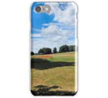 Rolling Hills and Poppies. iPhone Case/Skin