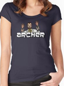 "Archer - Krieger ""Jazz Hands"" Women's Fitted Scoop T-Shirt"