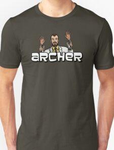 """Archer - Krieger """"Jazz Hands"""" T-Shirt"""