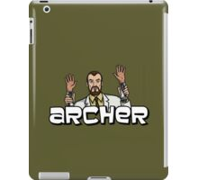 "Archer - Krieger ""Jazz Hands"" iPad Case/Skin"