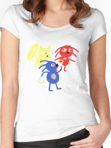 Sanic Hurros Women's Fitted Scoop T-Shirt