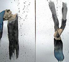 CUERPOS QUE FLOTAN EN UN RÍO (bodies floating on a river) by Alvaro Sánchez