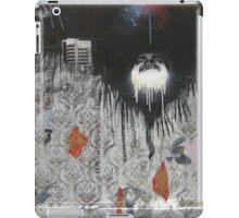 graffiti - face, city, texture, drips iPad Case/Skin