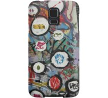 very colourful graffiti icons Samsung Galaxy Case/Skin