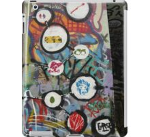 very colourful graffiti icons iPad Case/Skin