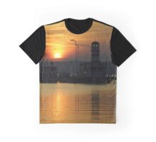Sunset At Neusiedlersee Graphic T-Shirt