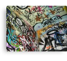 graffiti from all angles Canvas Print
