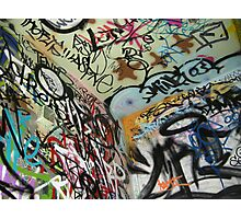graffiti from all angles Photographic Print