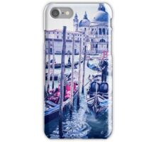Venice shades of blue  iPhone Case/Skin
