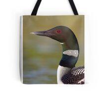 Common loon neckline Tote Bag