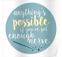 Anything's possible Poster