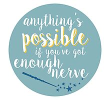Anything's possible Photographic Print