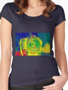"""""""Camera Obscura"""" Women's Fitted Scoop T-Shirt"""