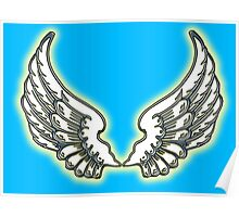 ANGEL, Wings, angelology, Flight, Fly, Angel, Angelic, Air Force, Jets Poster