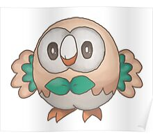 Cute Rowlet Poster