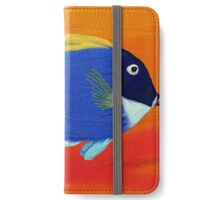 Tropic fish. Oil Painting effect. iPhone Wallet/Case/Skin