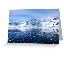 Wilhelmina Bay is a bay 24 kilometres (15 mi) wide between the Reclus Peninsula and Cape Anna Greeting Card