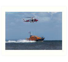 Air Sea Rescue Art Print