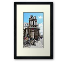 St Mary Woolnoth Framed Print