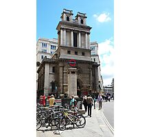 St Mary Woolnoth Photographic Print