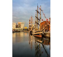 Pelican and Mercedes tall ships Photographic Print