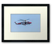 Coastguard Rescue Framed Print