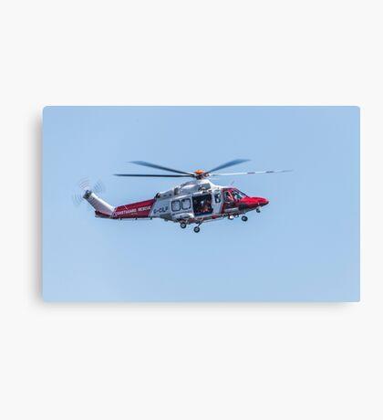Coastguard Rescue Canvas Print