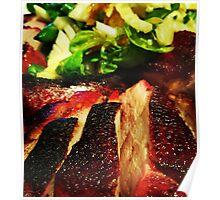 Comfort Food: Duck & Salad Poster